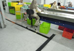 استفاده از کانال پیش ساخته با درپوش پلی پرو پیلن در پروژه صنايع غذايي اليت