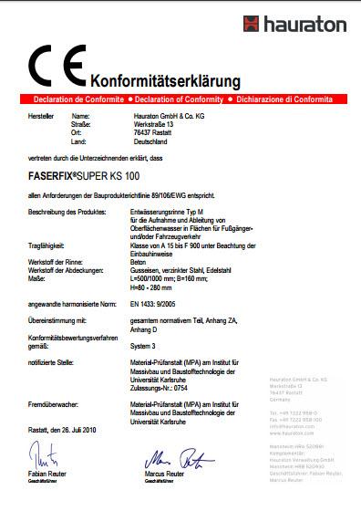 شرکت هاراتون آلمان دارای استاندارد CE اروپا